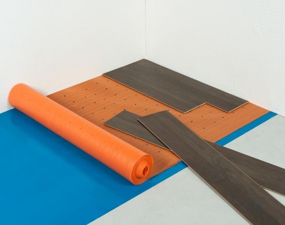 Mm thermo ondervloer voor vloerverwarming ondervloer
